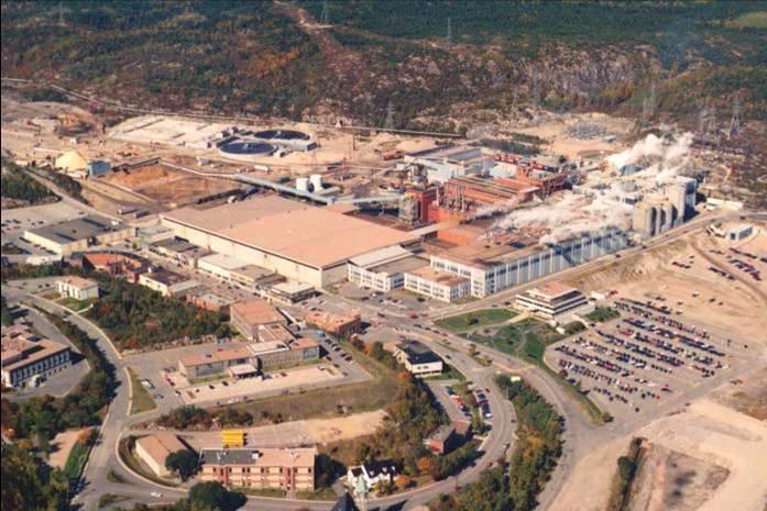 Baie-Comeau mill