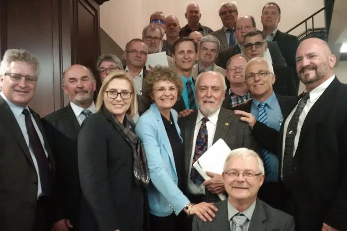 Maires du Québec et de l'Ontario à Ottawa