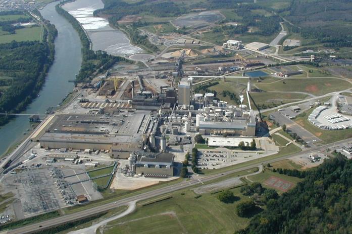 Resolute paper mill in Calhoun