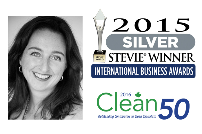 Pascale Lagacé 2015 Stevie Awards Winner