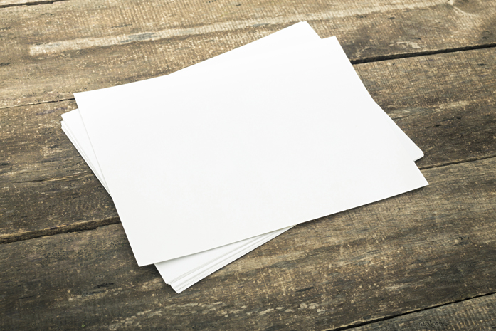 Papier à base de bois