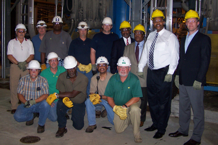 Usine Grenada : la plus performante sur le plan énergétique