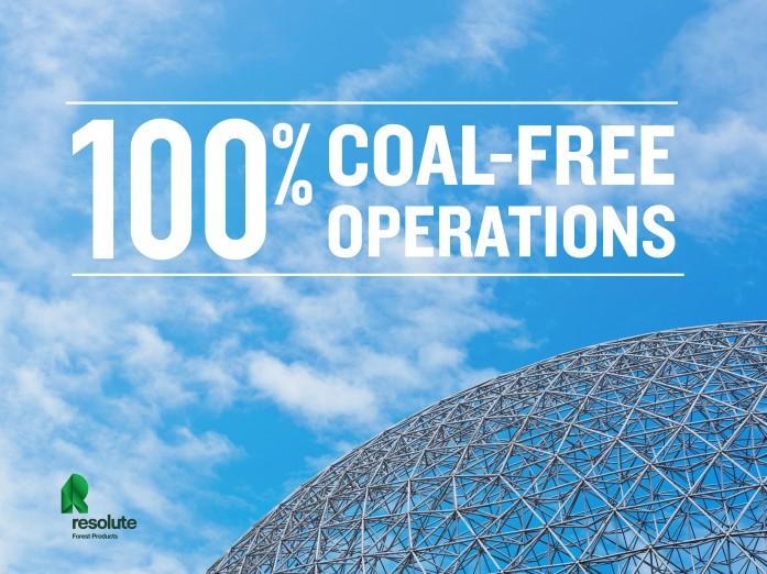 Resolute's coal-free operations