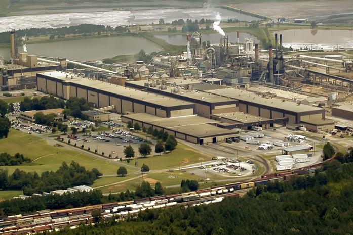 Catawba paper mill