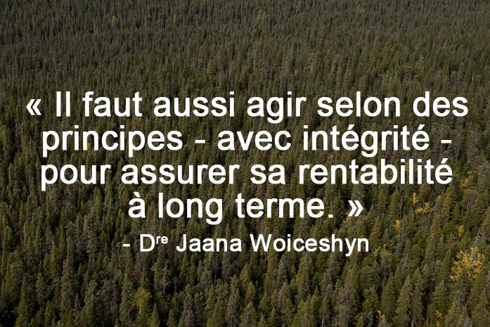 Dre. Jaana Woiceshyn