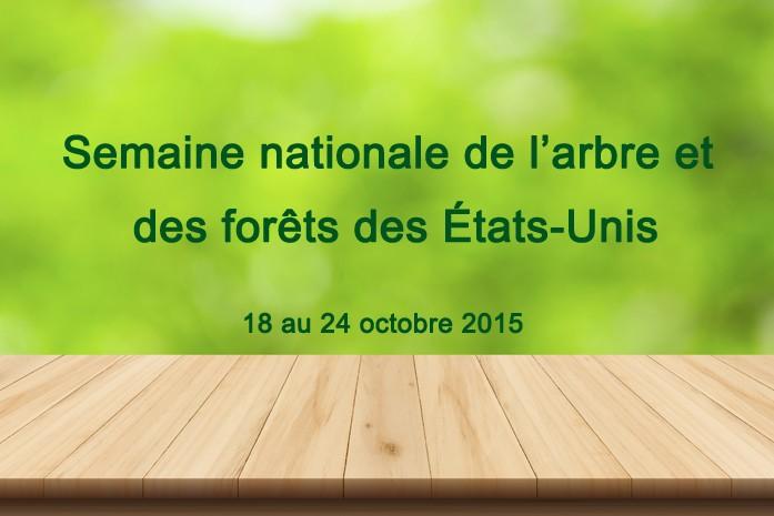 Semaine nationale de l'arbre et des forêts