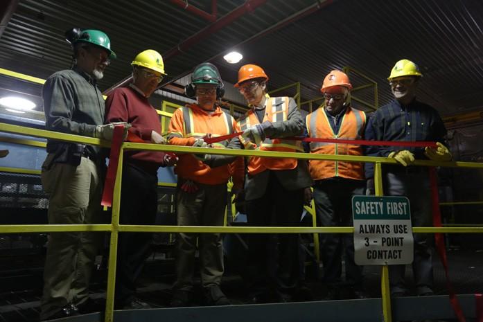 Ignace sawmill inauguration